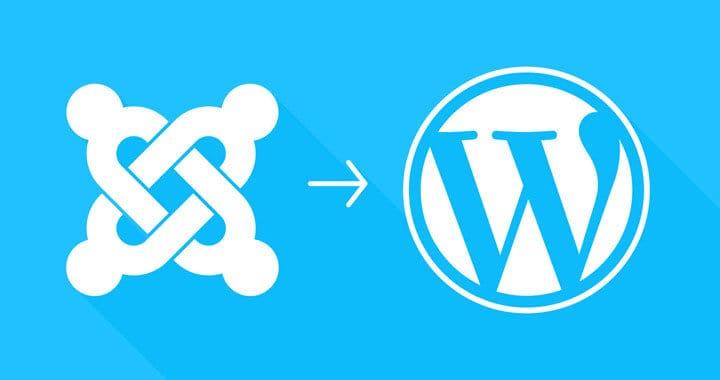 Overstap van Joomla naar WordPress