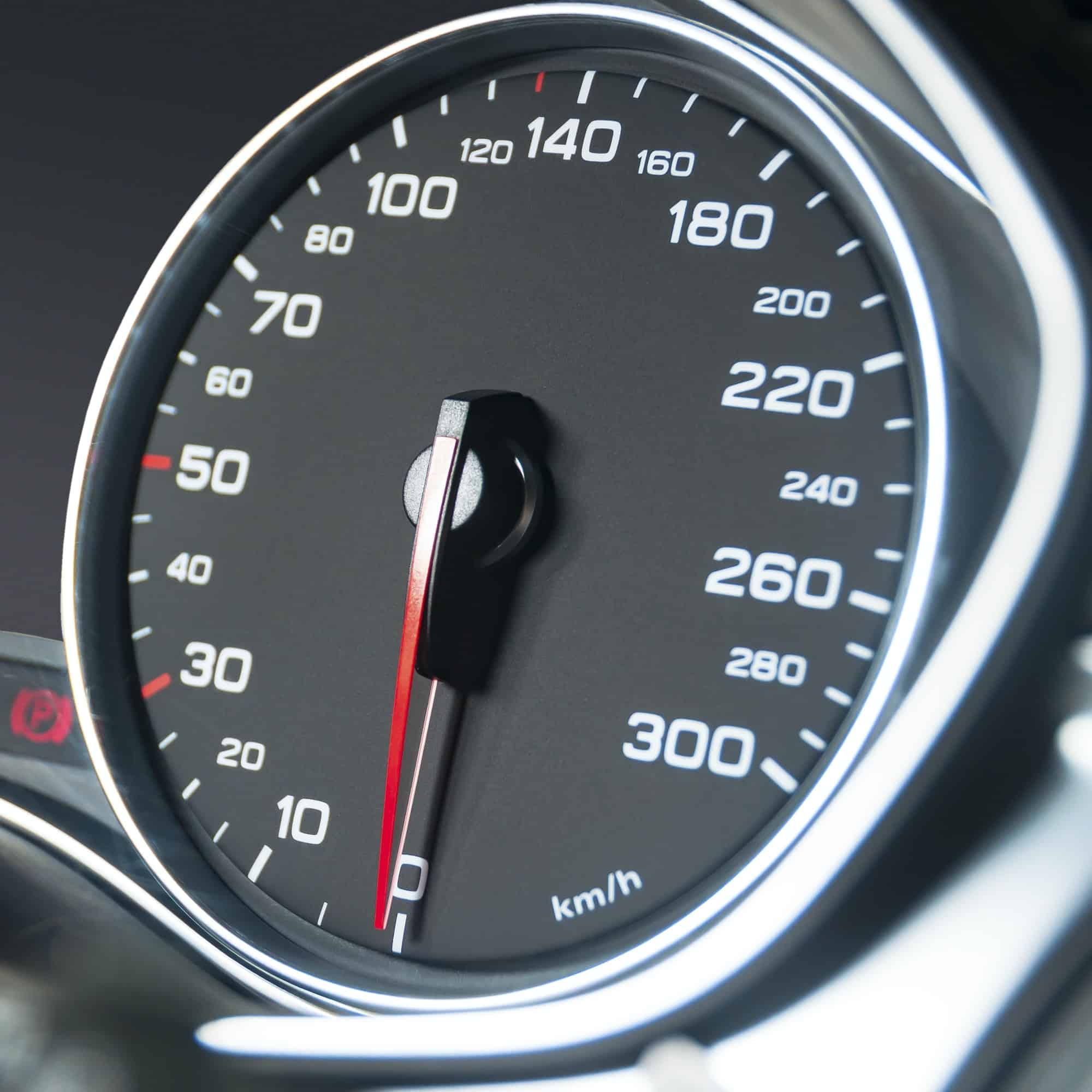Car speedometer dashboard